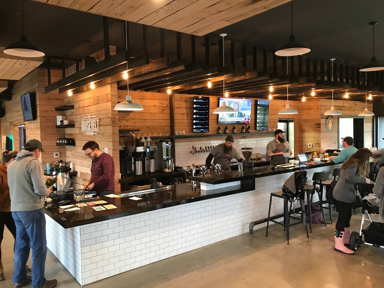 Roosevelt Coffeehouse In Olentangy River Brewing Company